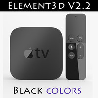 Apple TV New Element3D V2.2