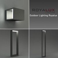 outdoor lighting royalux 3d model