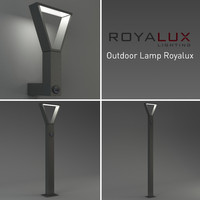 3d outdoor lighting lamp royalux