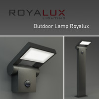 outdoor lighting lamp royalux 3d max