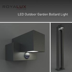 3d outdoor lighting led garden