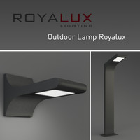 outdoor lighting lamp royalux 3d model