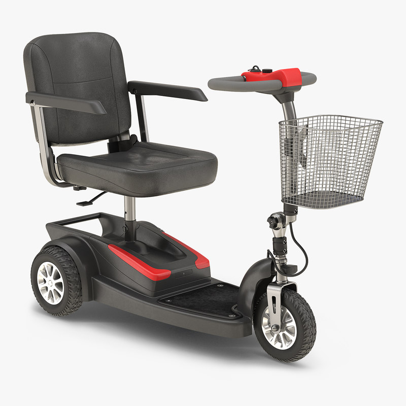 electric wheelchair 3d 3ds