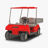 max golf cart red