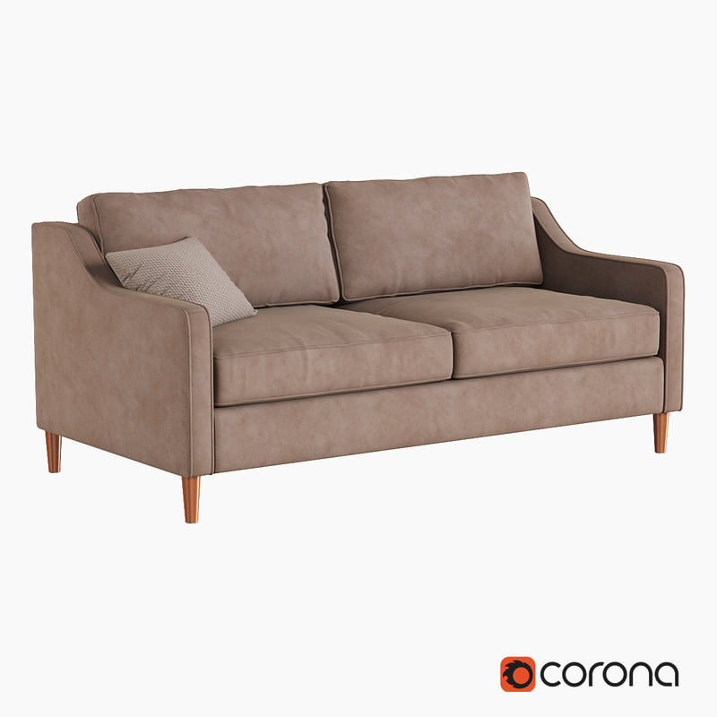 3d paidge sofa model