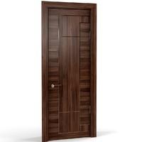 3d wood wooden door model
