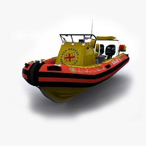 max sea rescue boat