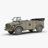 3d model horch 108 typ 40