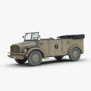 3d model horch 108 typ 40