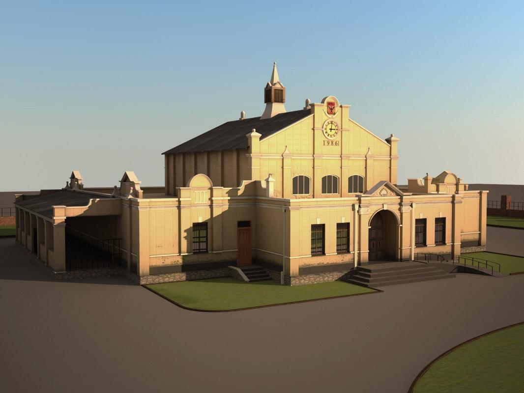 3d building museum