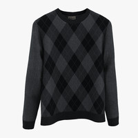 3d model sweater 3
