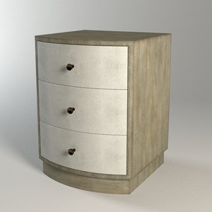 3d finn night stand model