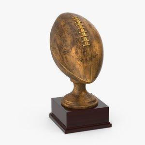 football trophy max