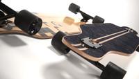 longboard realistic 3d max