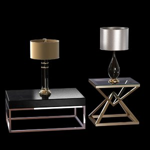 table lamps empire 3d model