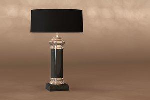 3d table lamp newport 104001