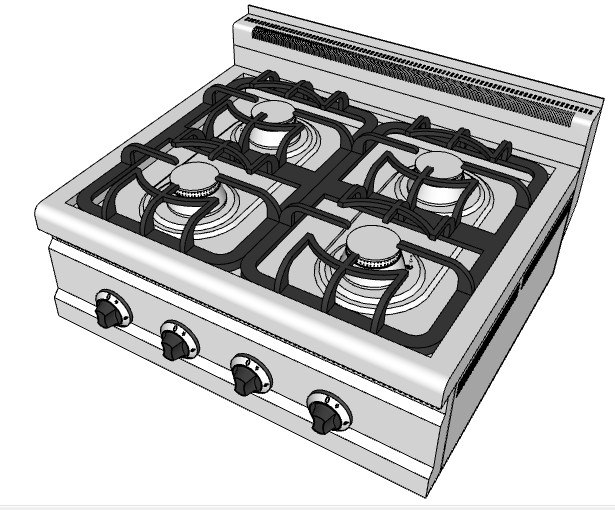 3d gas boiling tops 8070