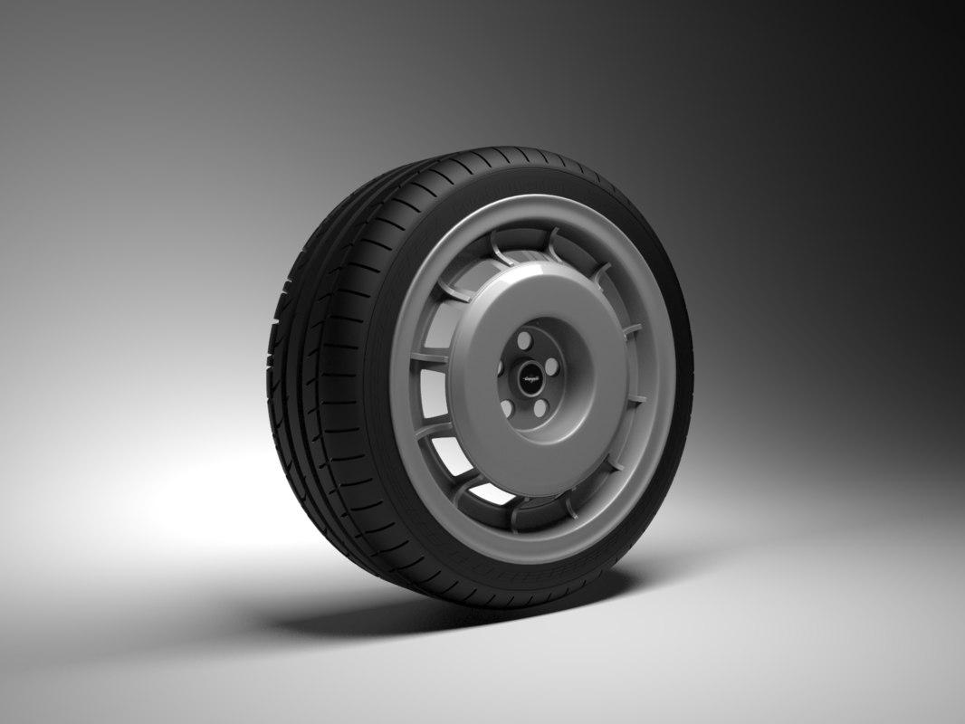 maserati campagnolo wheel 3ds