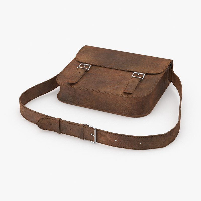 closed leather satchel max