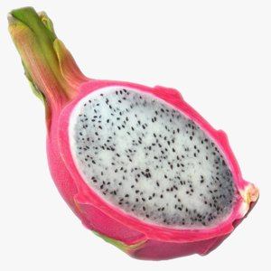 max scaned sliced dragonfruit pitaya