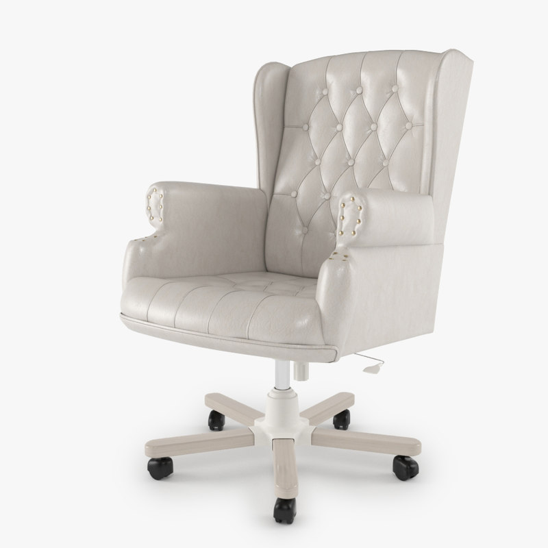 armchair swivel 3d model