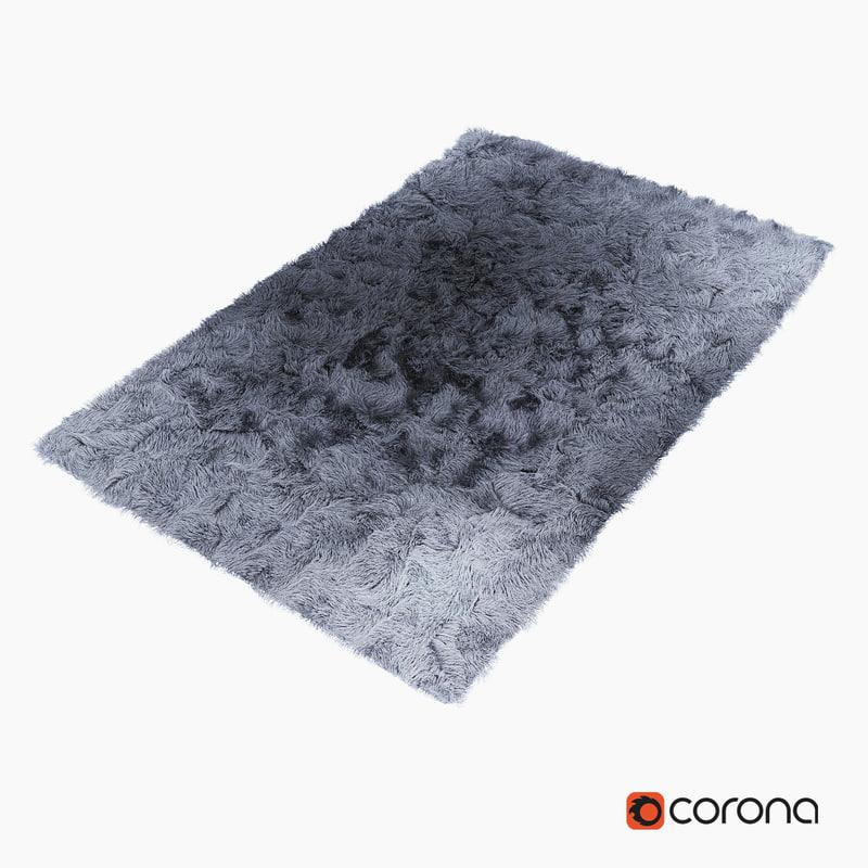 carpet fur 3d model