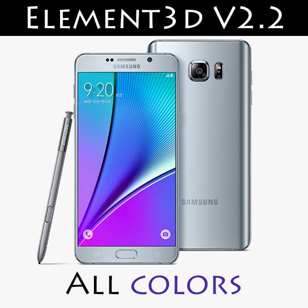 3d model of element v2 2 element3d