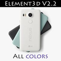 Nexus 5X Element3D V2.2