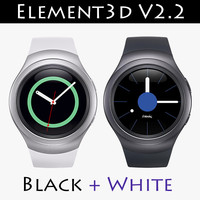 Samsung Gear S2 Element3D V2.2