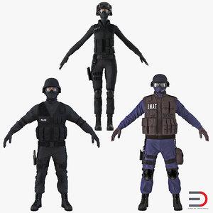 max swat policemans 3