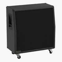 Guitar Speaker Cabinet Generic 3D Model