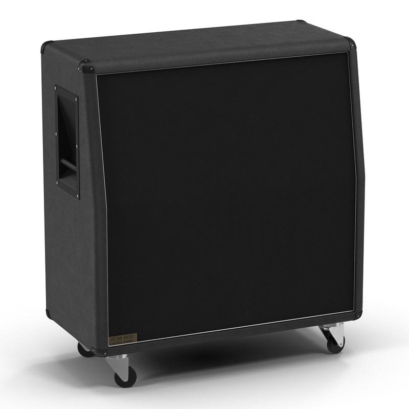 3d guitar speaker cabinet generic