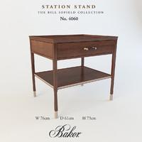 station stand obj