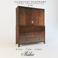 3d model firebanks wardrobe