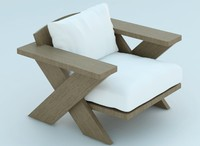 lounge chair 3d max