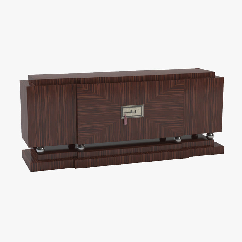 3d model empirelong sideboard