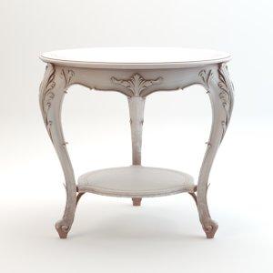 3d chelini sofa table model