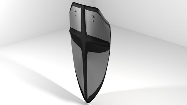 shield armor medieval 3ds