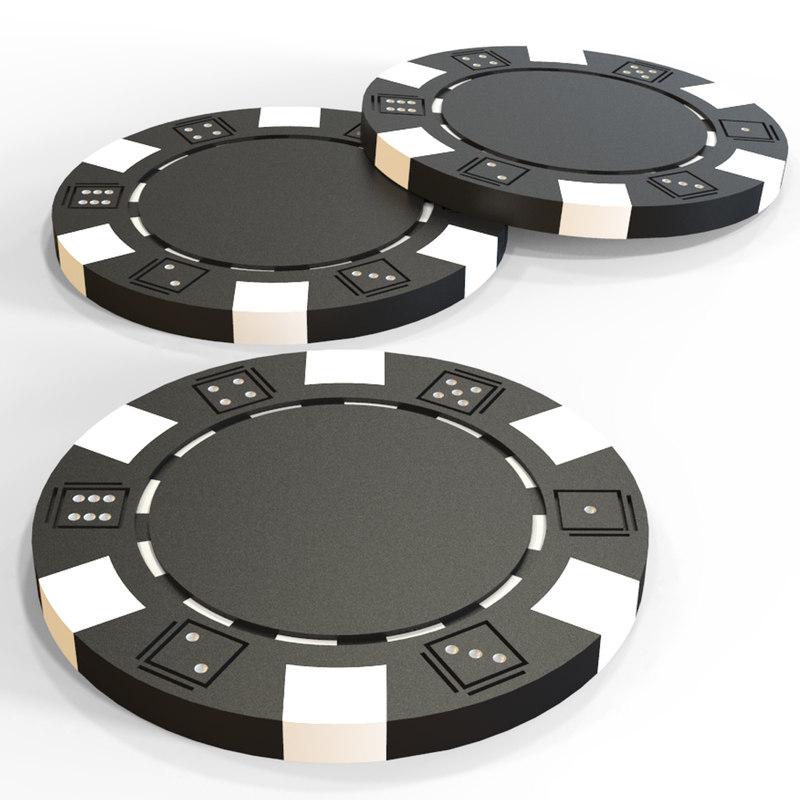 obj poker chip