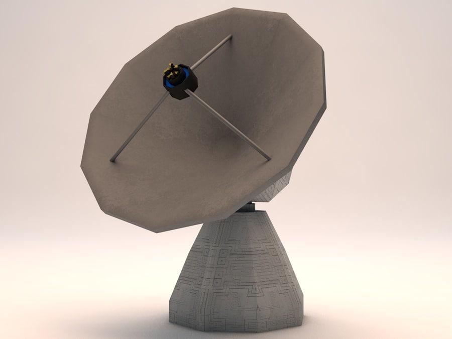 3d observatory dish