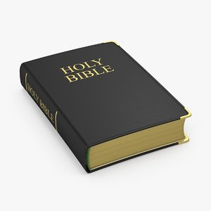 soft cover bible 3d max