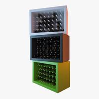 bottle holder slide 3d max