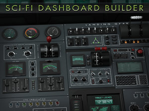obj sci-fi dashboard builder