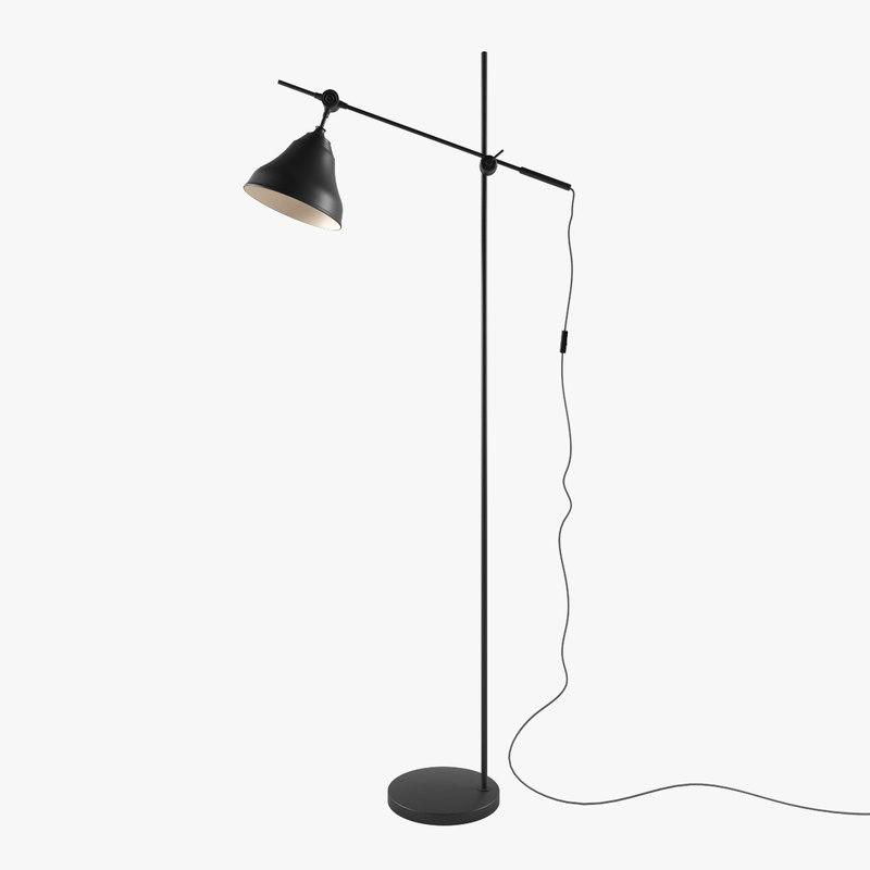 3d lucide dordrecht floor lamp