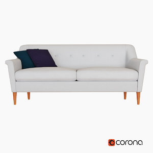 3d sofa west elm