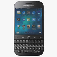 blackberry classic non camera 3d c4d