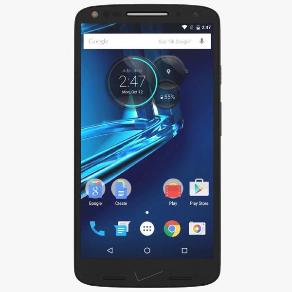 motorola droid turbo 2 3d max