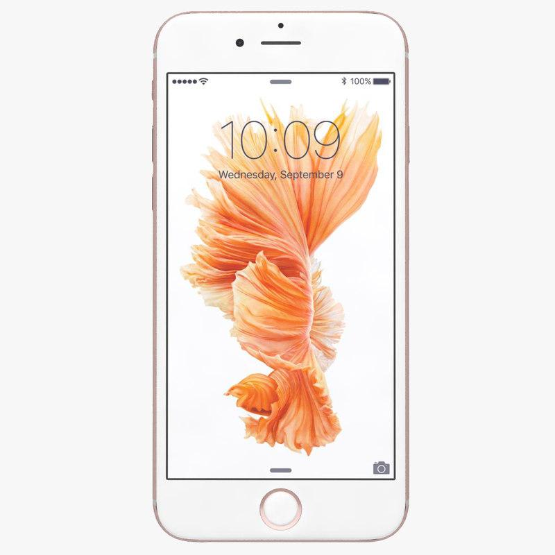 apple iphone 6s rose 3ds