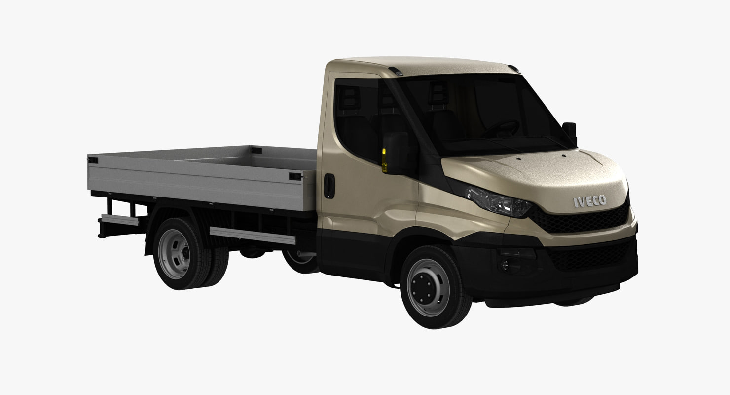iveco daily pickup 2016 3d max