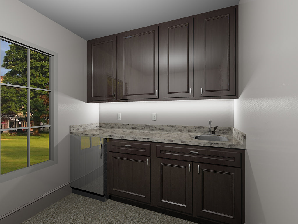 max cabinets fridge